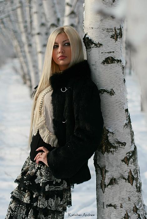 Фотографии на улице зимой 3