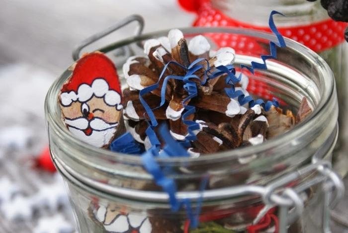 Березовые Санта Клаусы) Веселые поделки для творчества с детьми (5) (700x469, 217Kb)