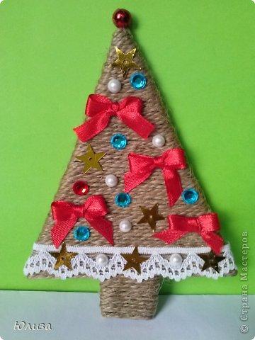 Рождественские поделки своими руками на елку