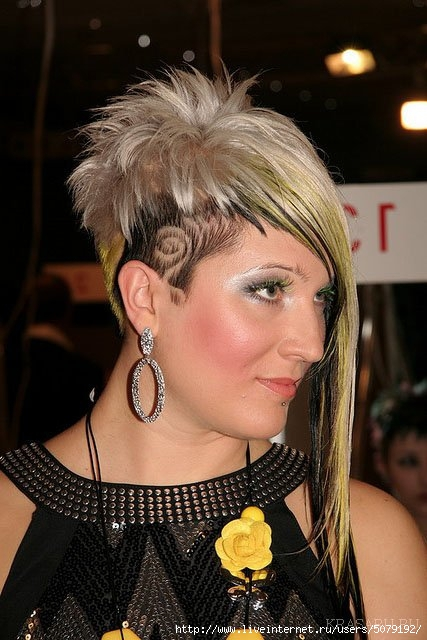 Прическа симметрия на короткие волосы