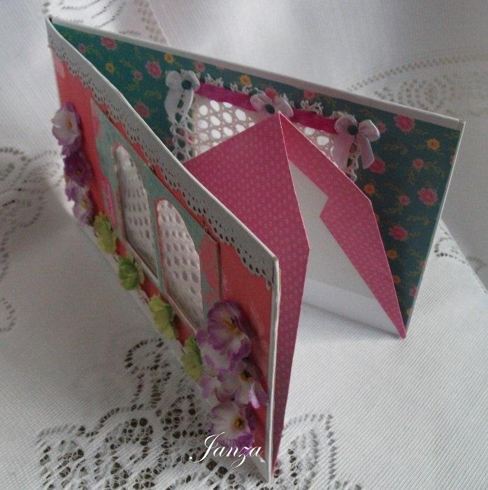 Домик книжка своими руками из картона