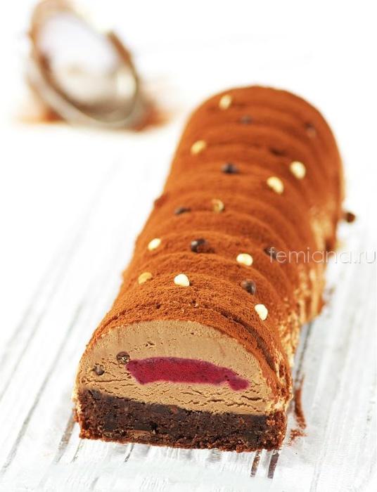 tort shokoladnoe poleno k novomu godu (536x700, 96Kb)