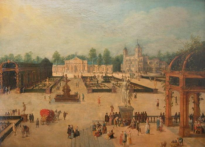 1580 1621 for Jardin villa medicis rome