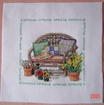 Превью Janlynn 015-0221W Four Seasons Chairs Spring (632x636, 259Kb)