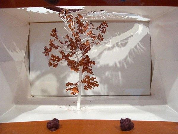 бумажные деревья художник Юкен Теруя 10 (600x452, 143Kb)