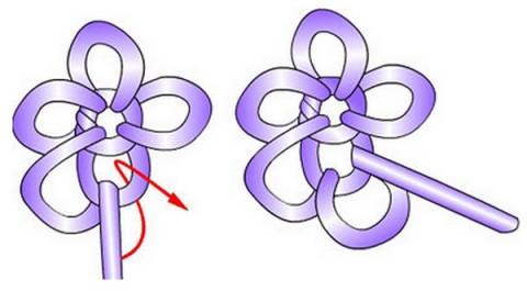 Как сделать из фольги бантик