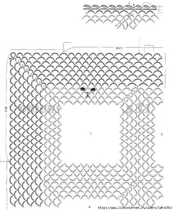 Women Crochet Vest pattern 5 (1) (577x700, 305Kb)