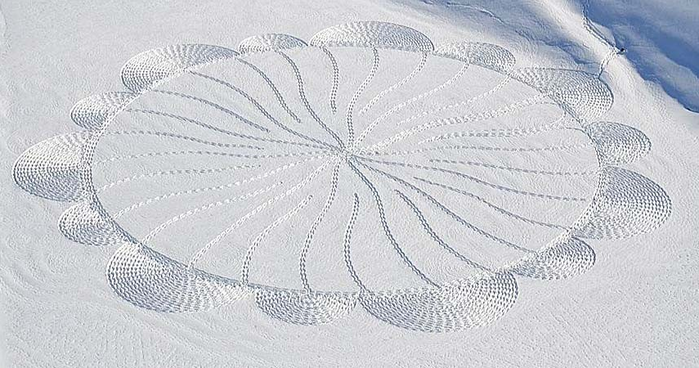 Снежные узоры Саймона Бека