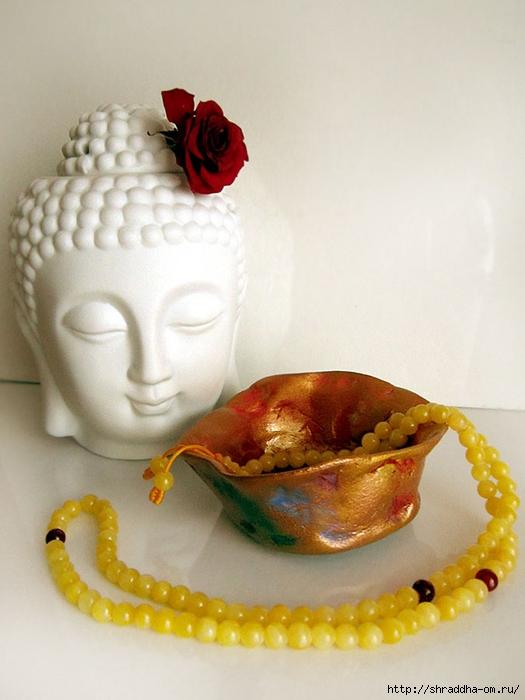 часа с цветком, автор Shraddha (1) (525x700, 210Kb)