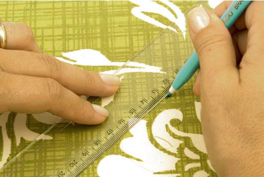 Сумка со стежкой, из набивной ткани. Шьем сами (4) (529x355, 431Kb)