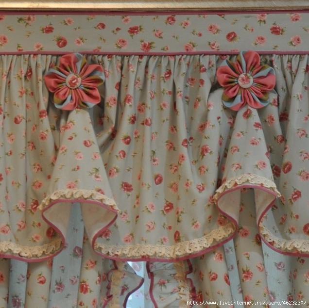 Как сшить шторы своими руками фото на кухню