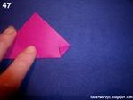 Превью Бумажные сердечки в технике оригами. мастер-класс (53) (700x525, 281Kb)