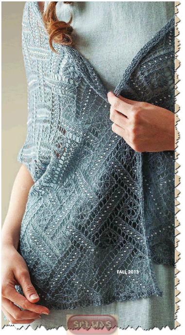 针织:莱西的围巾 - maomao - 我随心动