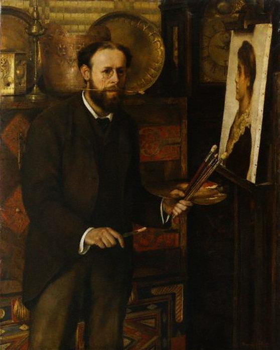 Marion Collier  Портрет Джона Кольера (558x697, 87Kb)