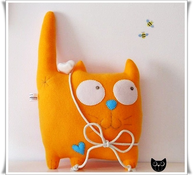 Сшить подушку кошку своими руками
