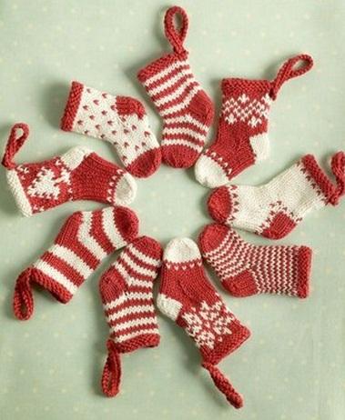 Схемы вязания для новогодних
