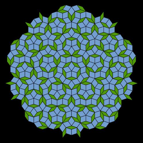 500px-Penrose_Tiling_(Rhombi).svg (500x500, 157Kb)