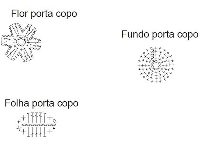 Вязание крючком. Праздничный комплект для сервировки стола (3) (688x493, 130Kb)