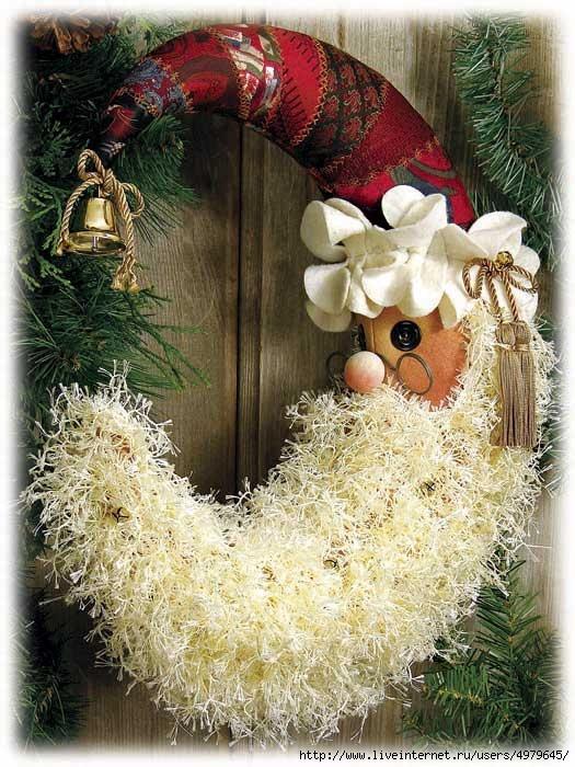 Новогодние рождественские вышивки