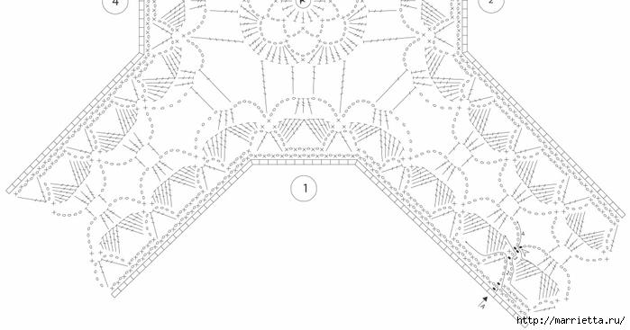 Crochet.  Mantel y recortar los bordes (3) (700x367, 119KB)
