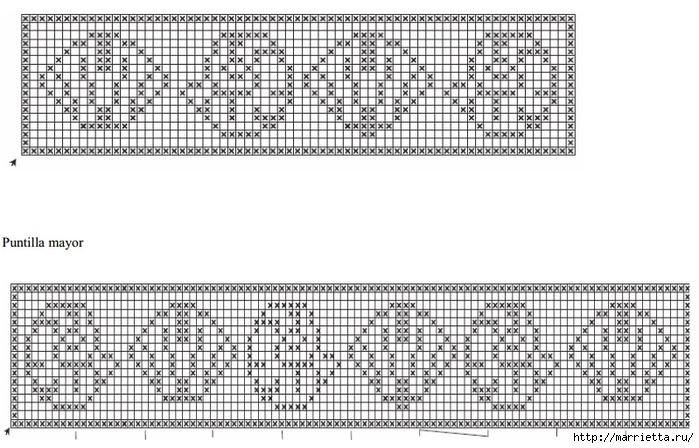 Crochet.  Mantel y recortar los bordes (13) (700x448, 235Kb)