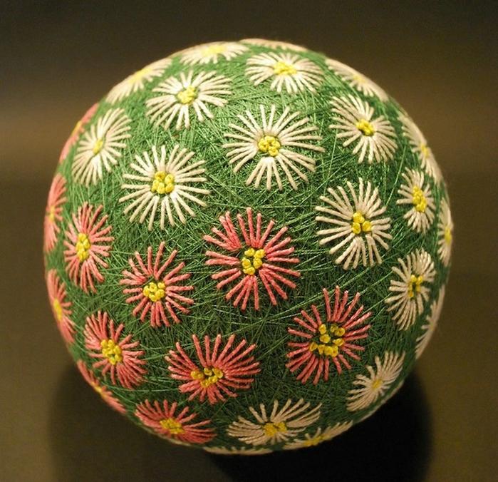 японские шары темари фото 5 (700x676, 378Kb)