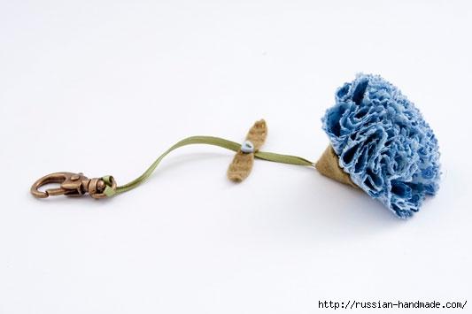 Цветы из ткани. РОЗЫ и ГВОЗДИКИ (9) (533x355, 47Kb)