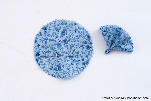 Цветы из ткани. РОЗЫ и ГВОЗДИКИ (13) (533x355, 73Kb)