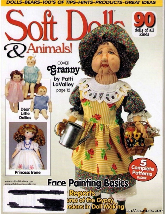 Soft Dolls & Animals-May 2009-00 (539x700, 356Kb)