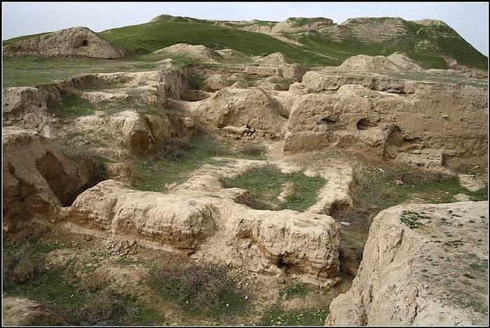 городище Афрасиаб (700x468, 131Kb)