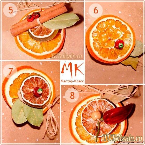 Поделки из сушеных апельсинов 469
