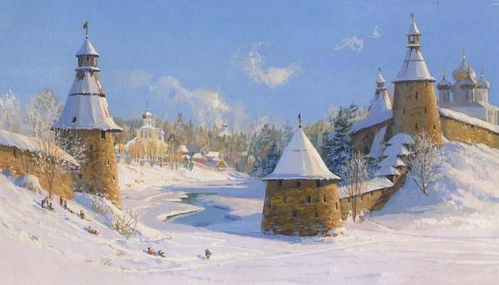 Владимир-Юрьевич-Жданов-Зима-в-пскове (700x400, 178Kb)