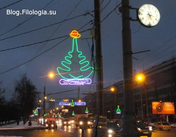 Вечерние огни на пересечении улицы Народного ополчения и улицы Тухачевского/3241858_DT06 (600x467, 144Kb)
