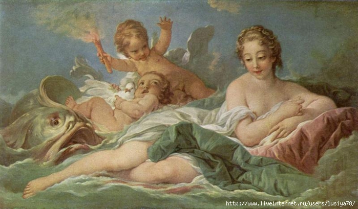 Франсуа-Буше--Рождение-Венеры (700x409, 210Kb)