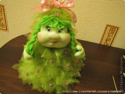 Кукла ёлочка своими руками