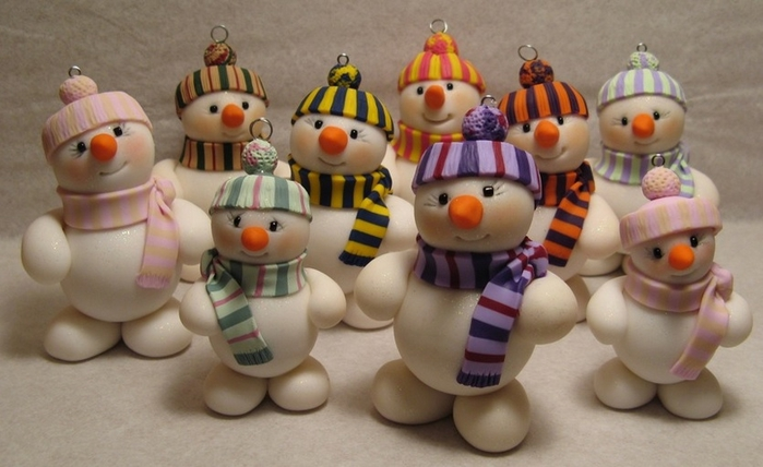 Парад снеговиков. Лепка (1) (700x428, 192Kb)
