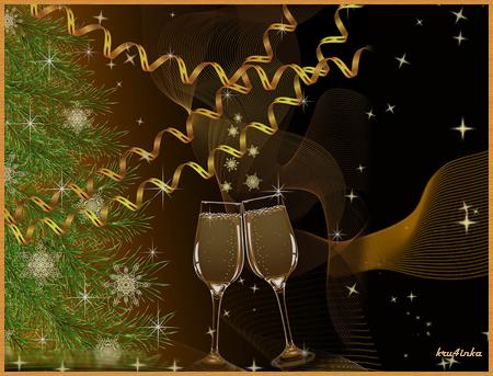Новогодние-2-бокала-(черн) (450x343, 284Kb)