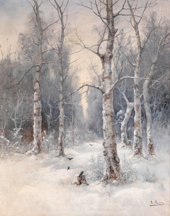 ROSEN, KARL Winter Landscape2 (549x700, 325Kb)