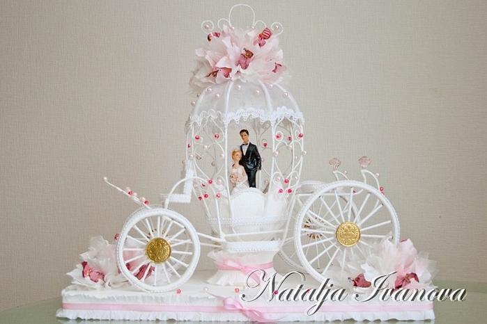 Свадебная карета от Натальи Ивановой. Фото мастер-класс (1) (700x466, 209Kb)