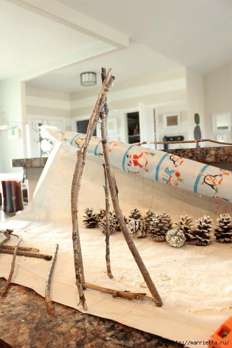 Веточки деревьев для рождественского декора (8) (466x700, 258Kb)