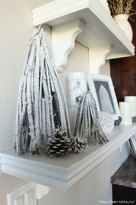 Веточки деревьев для рождественского декора (25) (466x700, 258Kb)