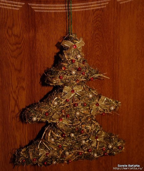 Веточки деревьев для рождественского декора (40) (588x700, 365Kb)