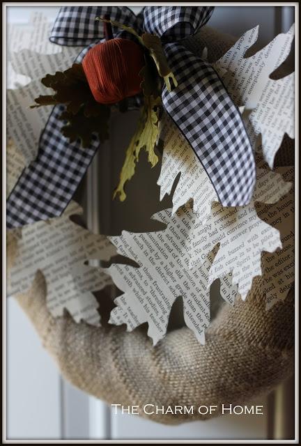 Венки для украшения интерьера. Осенне-зимние варианты (19) (432x640, 211Kb)