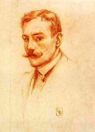 Руперт Банни  Автопортрет 1895 (310x430, 22Kb)