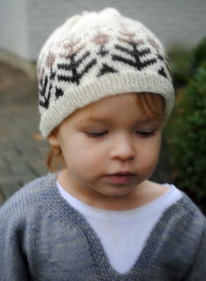 Вязание спицами. Детская шапочка (1) (425x579, 145Kb)