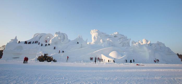 ледяные скульптуры харбина фото 7 (700x324, 185Kb)