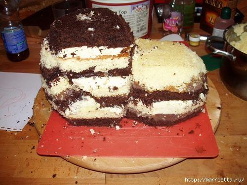 Марципановые торты. Лошади (3) (500x375, 122Kb)