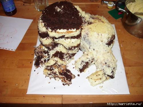 Марципановые торты. Лошади (5) (500x375, 114Kb)