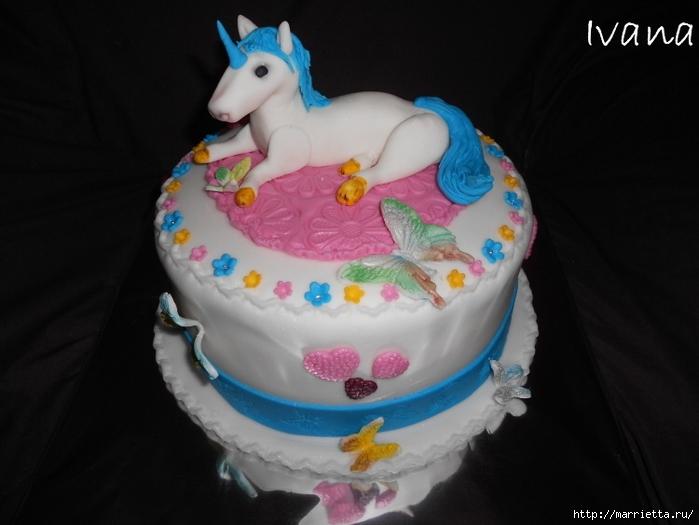 Марципановые торты. Лошади (23) (700x525, 184Kb)