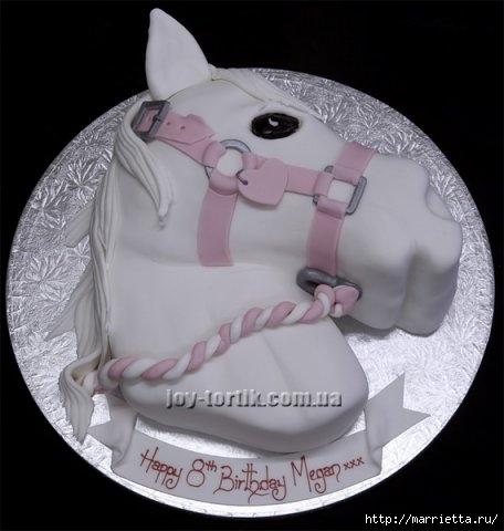 Марципановые торты. Лошади (26) (456x480, 88Kb)